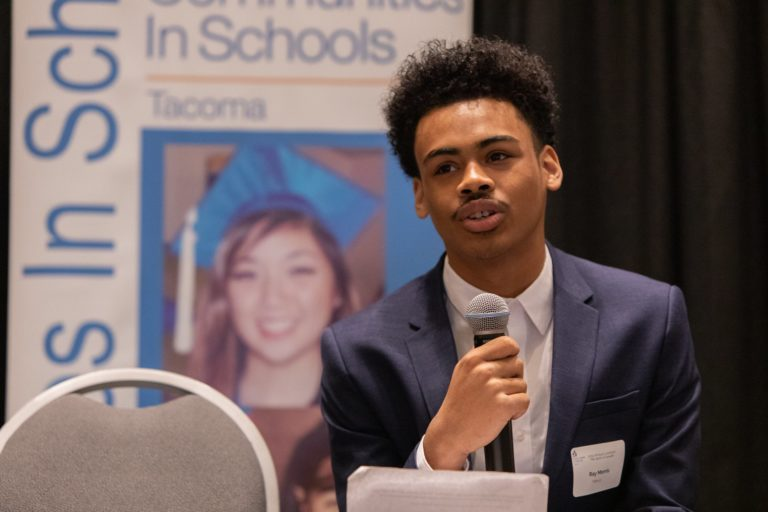 Ray speaking at CIS of Tacoma event
